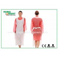 China CE Transparent Plastic PE Disposable Aprons for Food Service , Medical Grade wholesale