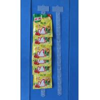 display clip strip for supermarket with 12 hooks,Injection Clip Strip, Hang Strip