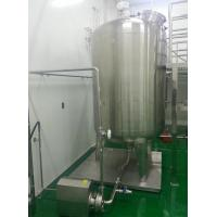 China Heating Function Stainless Steel Mixing Tanks For Sauce Mixing Heating wholesale