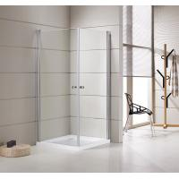 China Small Bathrooms Square Shower Stalls / Shower Cubicle 5mm Thickness Doors on sale