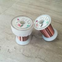 China High Frequency Enamelled Copper Winding Wire 0.01 - 3mm For Automatic Machine wholesale