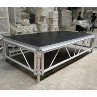 China 4*8 Feet Assembly Outdoor Used Portable Anti slip Aluminum and Wooden Wedding Stage Platform wholesale