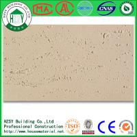 Buy cheap HZSY 1200*600MM Customized Lightweight / Fireproof Wall Tiles With Flexible Clay from wholesalers