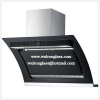 China Black Screen Printing Glass for Kitchen Range Hood/Home Appliance wholesale
