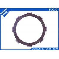 China Honda CG125 Motorcycle Clutch Plate , Friction Clutch Disc And Pressure Plate wholesale