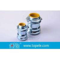 China NPT Thread EMT Conduit And Fittings And Steel Compression Connector on sale