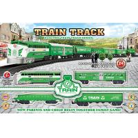 China Electric Classic Train Railway Race Set W / Sound For Christmas Gift wholesale