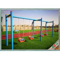 China UV Resistant Green Outdoor Artificial Grass For Garden / Landscape Decorative wholesale