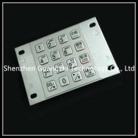 China Metal Atm Pin Keypad , Input Type Password Numeric Keyboard For Kiosk on sale
