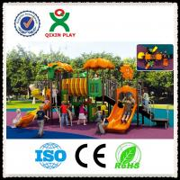China 114mm Galvanized Steel and LLDPE Plastic Giant Outdoor Playground Toys  QX-009B wholesale