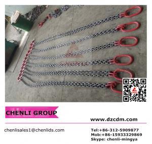 Multi-leg lifting chain sling assembly