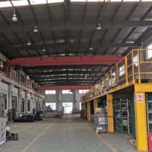China 10 Ton Single Girder Bridge Crane Hoist Electric With 12 Months Warranty wholesale