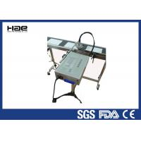China Barcode Batch Code Printing Machine 35M Per Minute For Bottle / Plastic Bags wholesale