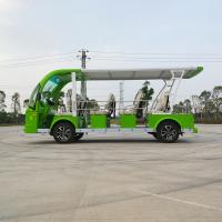 China Low Speed Electric Shuttle Vehicles 14 Seaters New Design ISO9001 Certificate wholesale