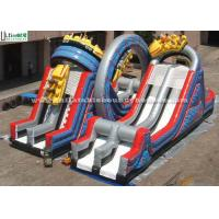 China Giant Inflatable Game Of Shuttle Space Slide For Outdoor Use on sale
