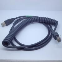 Quality 9ft Coiled USB Barcode Scanner Cable for Symbol LS2208 for sale