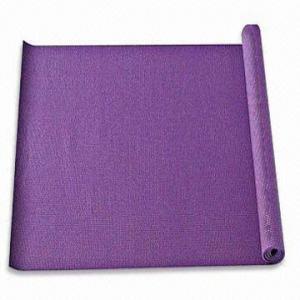 China Yoga/Sports/Gymnastic Mat, Can Print Logo, Made of PVC Foam wholesale