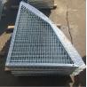 China Outdoor Anti Slip Galvanized Bar Grating, 30 * 3mm Metal Grid Flooring wholesale