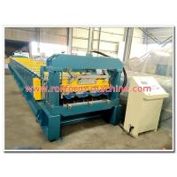 China Automatic Galvanised Steel Floor Decking Tile Cold Rollforming Making Machine for Concrete Deck wholesale