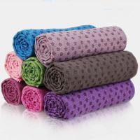 China skidless yoga mat towel for sale wholesale