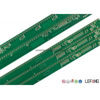 China Double Sided OSP LED PCB Board Printed Circuit Board For Led Lights 384*16mm wholesale