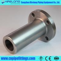 China Long nozzle weld neck flange on sale