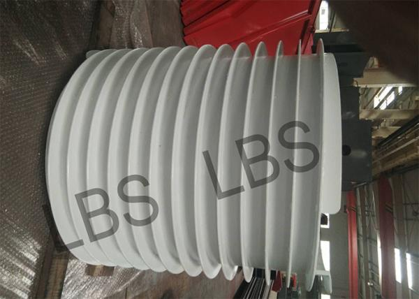 Quality Galvanized Wire Rope Drums With Bigger Groove For Cable Storing for sale
