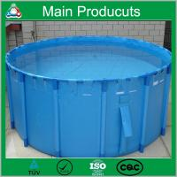 China New Design Products Portable Flexible Cube Structure Fish Farming Tanks for Sale wholesale