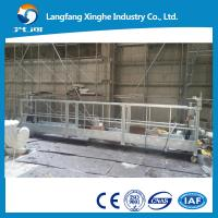 China zlp series suspended scaffolds working platform with ltd hoist on sale