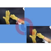China Light Weight Aramid Fiber Gloves / Cut Proof Gloves For Armed Police Operation wholesale