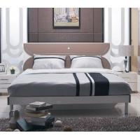 China Fashion Bedroom Suite Furniture King Size Bed Thai Rubber Wood With Melamine Finishing wholesale