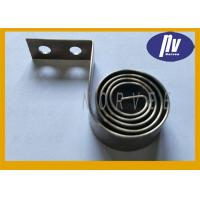 China Stainless Steel 301 Flat Spiral Spring Cigarette Pushers Springs For Shelf Pushers wholesale