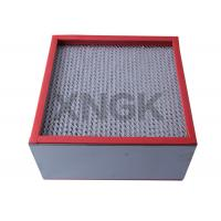 China Chemical Industry High Temperature Hepa Filters 99.99 Efficiency SUS Frame on sale