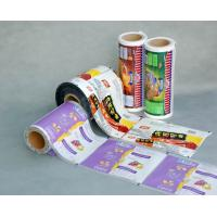 China Custom Printed Moisture Proof Plastic Protective Film For Food Packaging wholesale