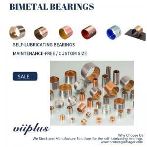 China CuPb10Sn10 SAE792 bimetal bearings ISO3547 DIN1494 For Heavy Duty Vehicle wholesale