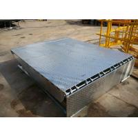 China Hot Dip Galvanized Hydraulic Electric Dock Leveler With Bumpers wholesale