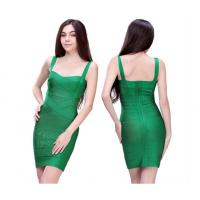 China Royal Emerald Green Tight Mature Ladies Formal Evening Dresses Of Nayon wholesale