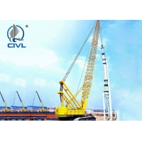 China Hydraulic Crawler Crane QUY150 (150T) With Length Of Main Boom 19-73m wholesale