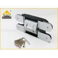 China 3D Adjust Gate Metal Door Heavy Duty Exterior Hinges 180 Degree wholesale