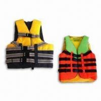 China Neoprene Life Jackets with >150N Buoyancy, EN ISO12402-5 2006 and 12402-7 2007 Marks wholesale