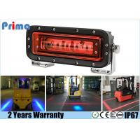 China 18 Watt Red / Blue Line Forklift Safety Light Safety Zone For Forklift wholesale