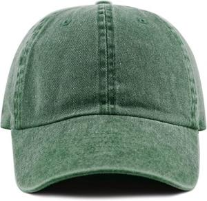 China Custom Sports Dad Hats Embroidery Unstructured 6 Panel Washed Baseball Hat wholesale