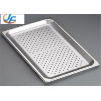 China Free Sample Flat Perforated Baking Tray With Holes For Medical , Bakery wholesale