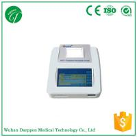 7 inch LCD touch screen Fluorescence Immunoassay Analyzer with built-in thermal printer