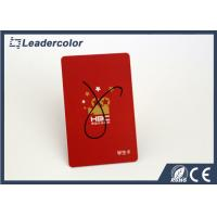 China Red MIFARE ® Classic 4K Card , Smart MIFARE ® Classic Card Identification wholesale