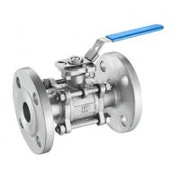 China A216 3 Inch Cast Steel Ball Valve , Full Bore Reduced Port Ball Valve wholesale