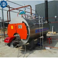 China 3 Ton Horizontal Oil Gas Fire Tube Steam Boiler For Brewing Plant,Beverage Factory wholesale