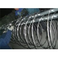 Buy cheap Stainless Steel Barbed Wire , Concertina Barbed Tape Beautiful Appearance from wholesalers