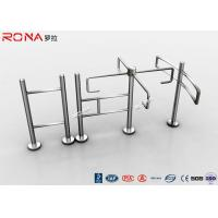 China RFID Half Height Automatic Systems Turnstiles Electronic Mechanism 30 Persons / Minute wholesale