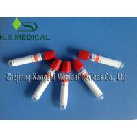 Medical Serum Collection Tubes 13mm x 75mm Clot Activator Tube , Serum Tube